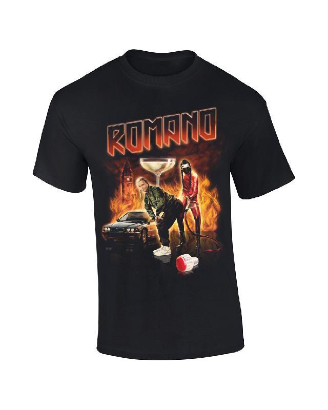 Klaps auf den Po T-Shirt schwarz