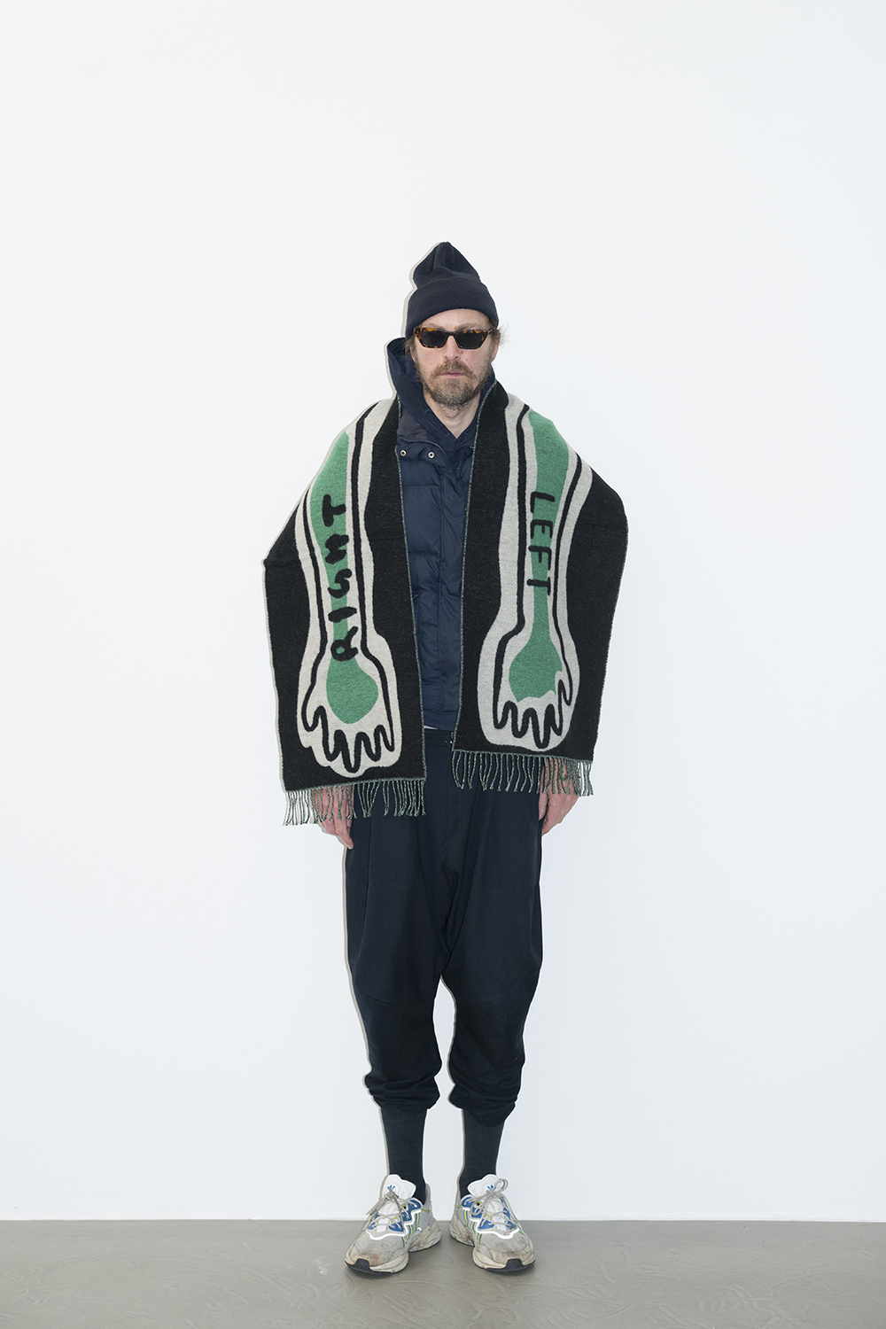 Henrik Vibskov Right Left Scarf