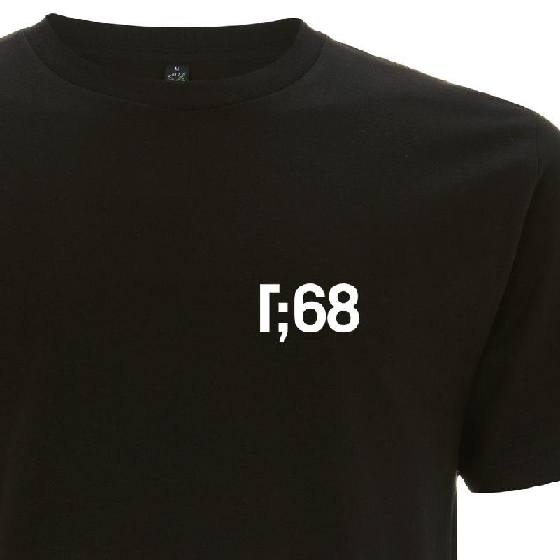 R;68 T-Shirt Black