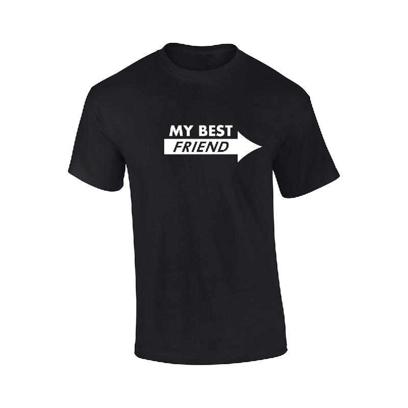 Best Friend T-Shirt T-Shirt Schwarz