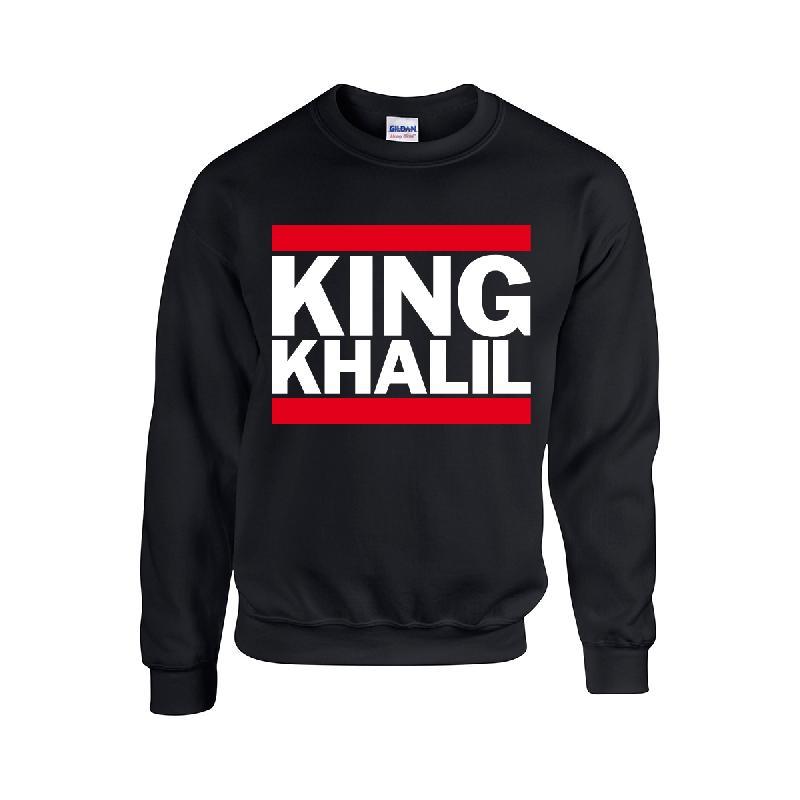 King Khalil Run DMC Sweater Schwarz Sweater Black