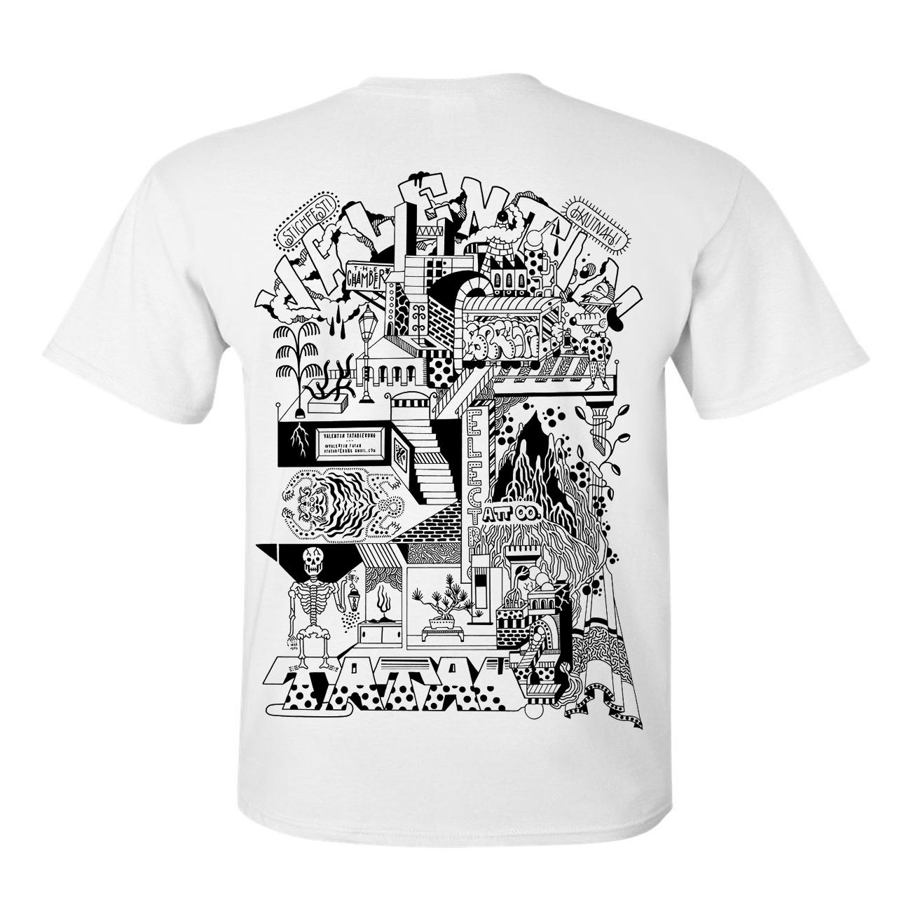 VALENTIN TATAUIERUNG / Preorder bis 19.06. T-Shirt White