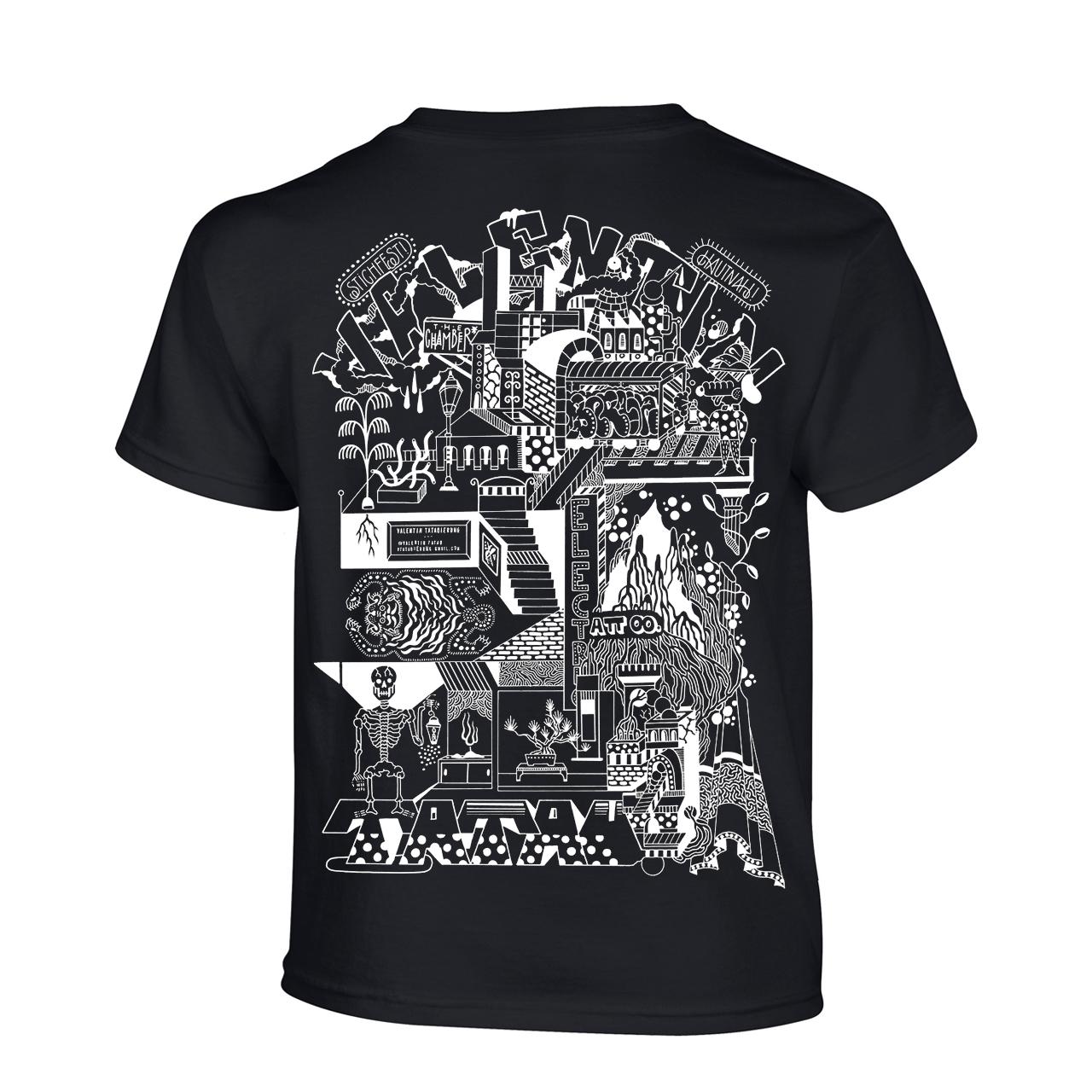 VALENTIN TATAUIERUNG / Preorder bis 24.06. T-Shirt Black