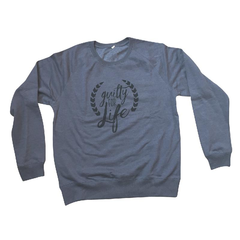 Guilty For Life Sweater Sweater Grau