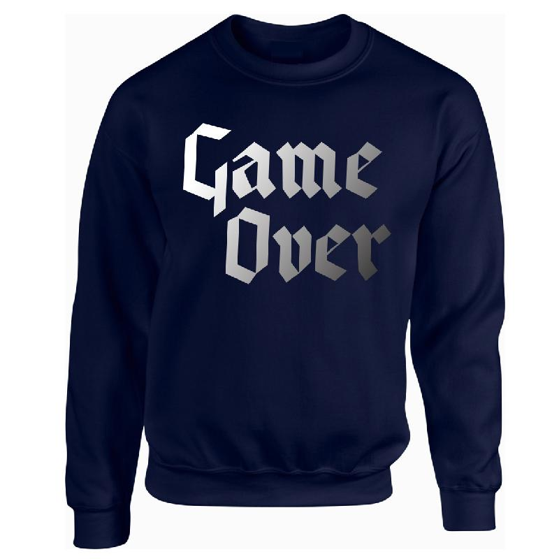 Game Over Sweater Navy