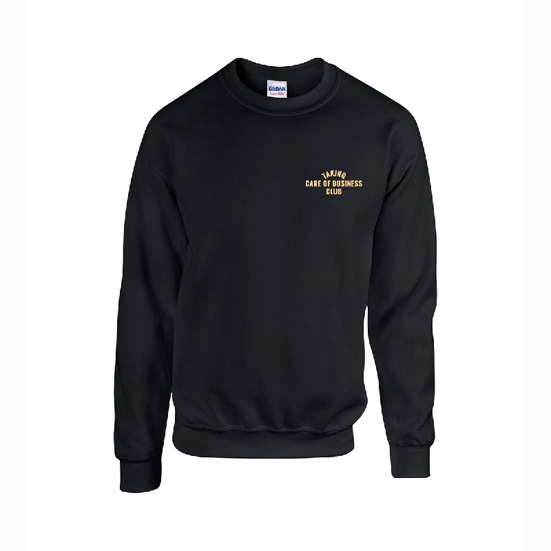 TAKING CARE OF BUSINESS CLUB Girls Sweater black