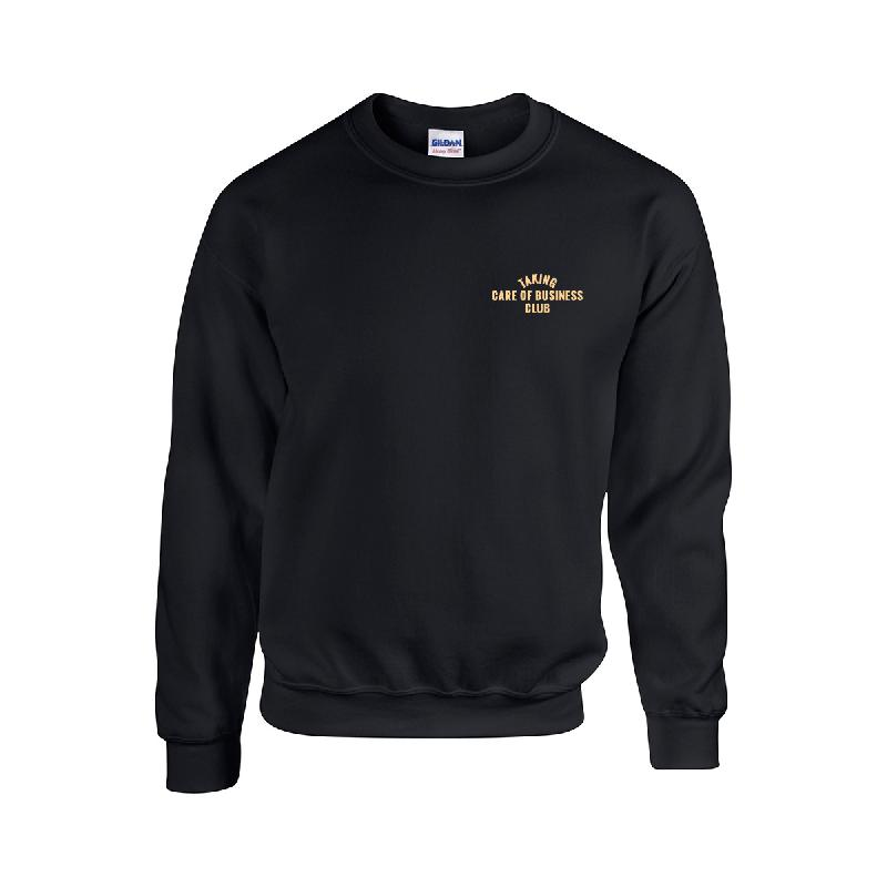 TAKING CARE OF BUSINESS CLUB Sweater schwarz