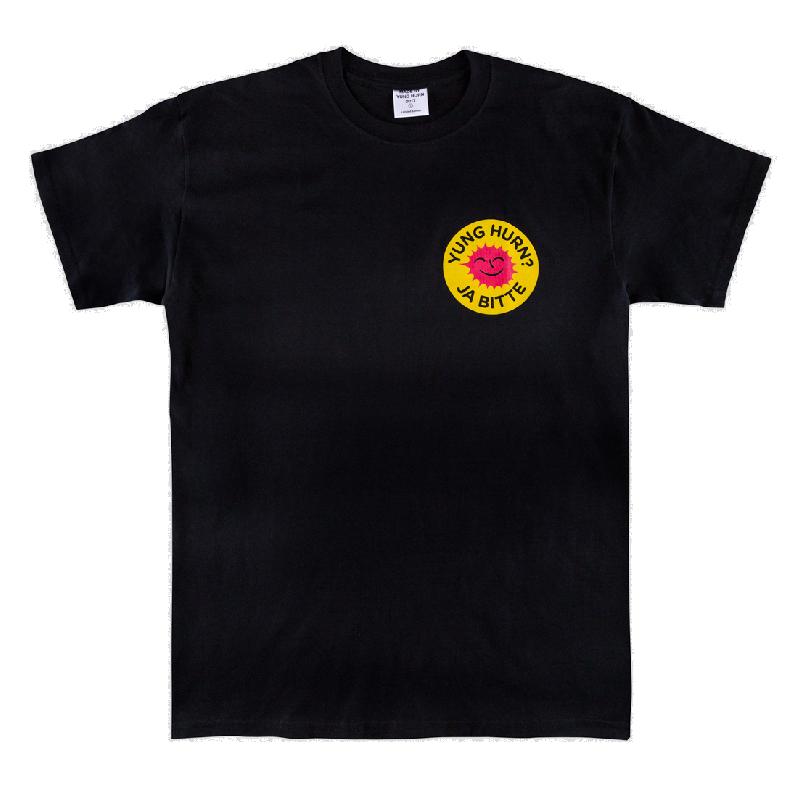 Atom T-Shirt T-Shirt Schwarz