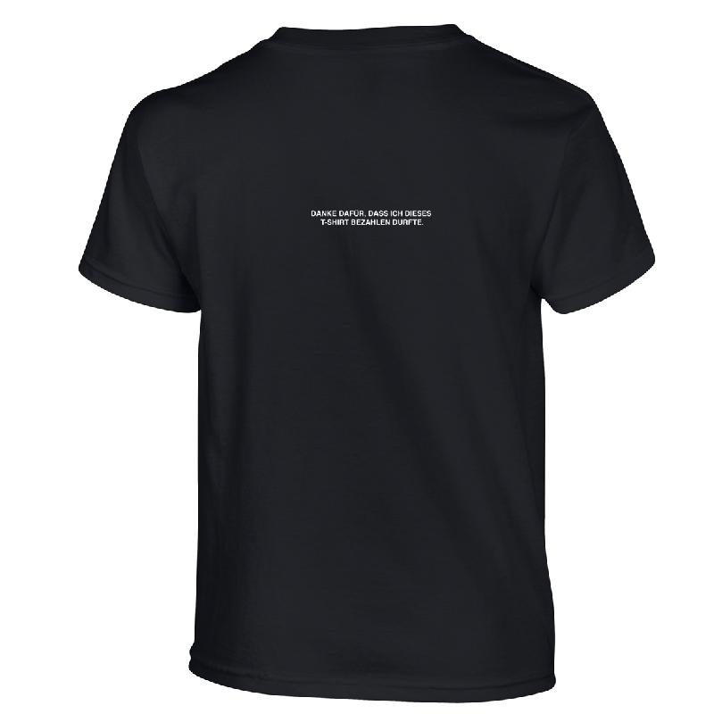 Danke T-Shirt Schwarz