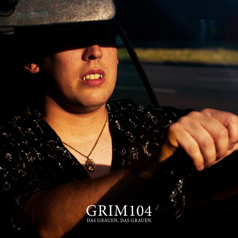 Grim104 - Das Grauen, das Grauen Black Vinyl LP