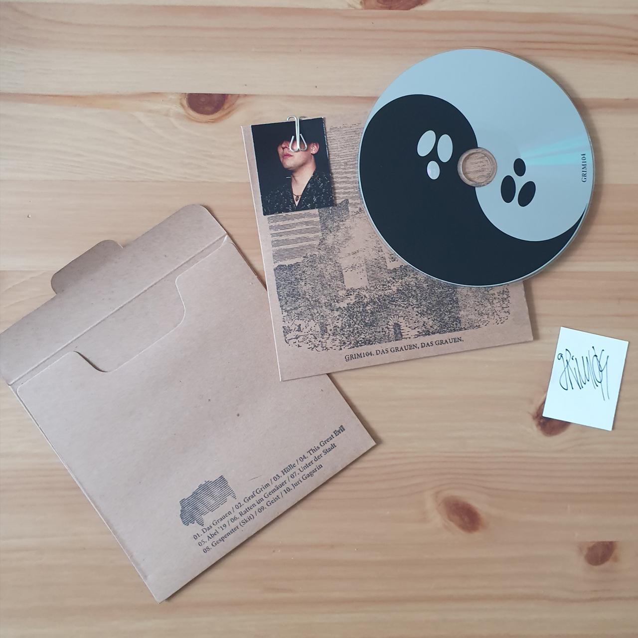 Grim104 - Das Grauen, das Grauen / Signiert CD