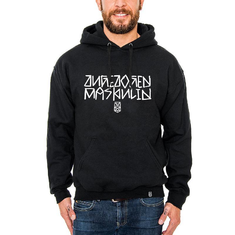 ZM Logo Hoodie Schwarz
