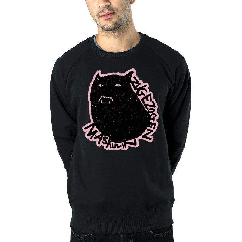 ZM Werwolf Sweater Schwarz