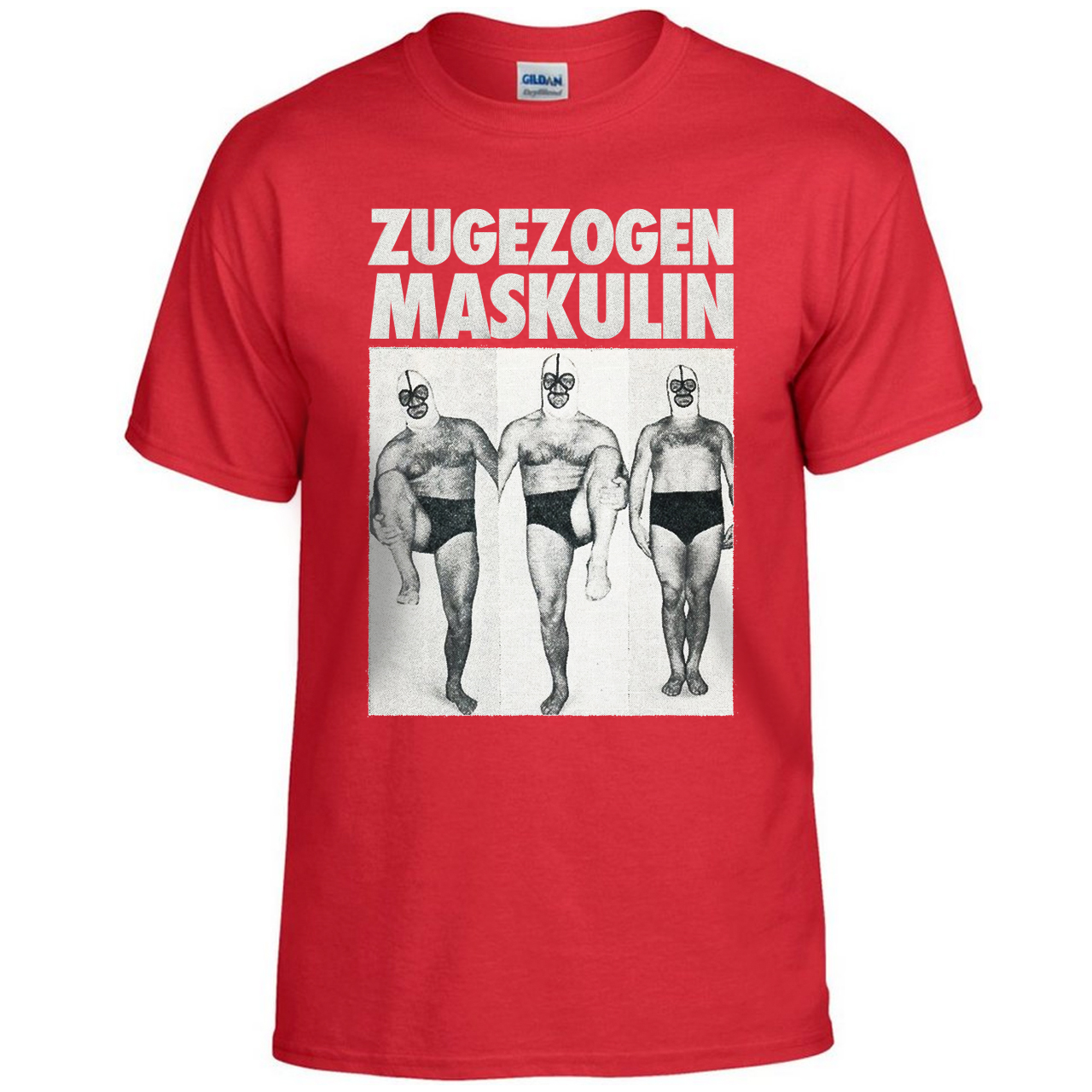 ZM Aggro Wrestler T-Shirt Red